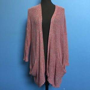 Anthropologie Sparrow Hemp Slouchy Open Cardigan